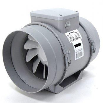 Вентилятор канальный Vents ТТ ПРО 200 серый