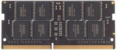 Оперативная память AMD SODIMM DDR4-2666 16384MB PC4-21300 Radeon R7 (R7416G2606S2S-U)