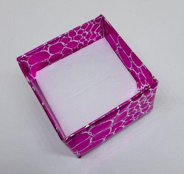 Коробочка для прикрас під кільце і сережки Рожевий 4(р)