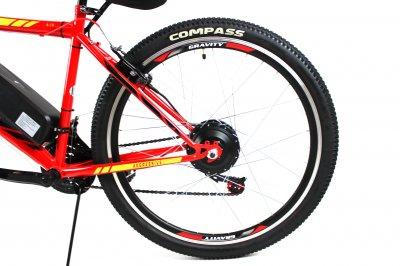 Электровелосипед Formula Man 26 колесо 36В 350Вт 8Ач литий ионный аккумулятор красный