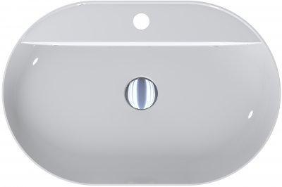 Раковина MIRAGGIO France белая глянцевая