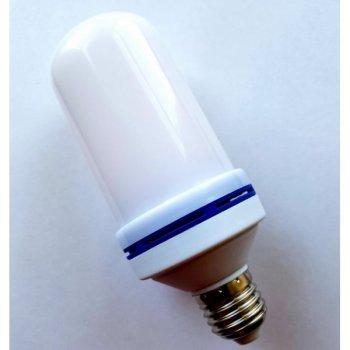 Лампа LED Flame Bulb А+ з ефектом полум'я вогню E27