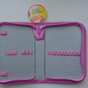"""Пенал CLASS """"Fancy Kitten"""", 1 отделение, розовый, без наполнения, 98004"""