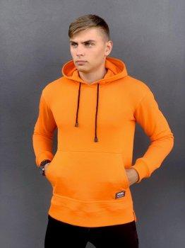 Худи Мужское Intruder 'Spark' спортивная кофта трикотаж оранжевое