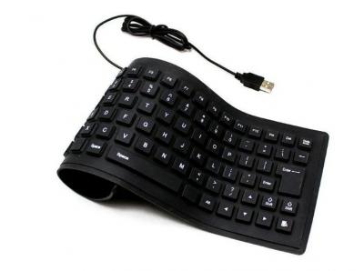 Гибкая силиконовая клавиатура Flexible Keyboard X3