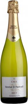 Вино ігристе Heretat el Padruell Cava біле брют 0.75 л 11.5% (8411277205791)