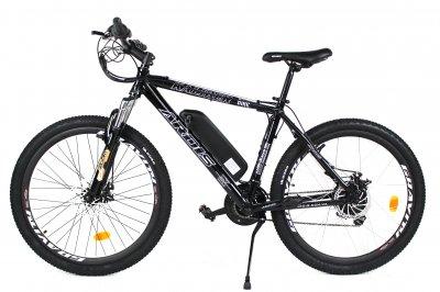 Электровелосипед KALIBER 26 колесо 36В 350Вт 13Ач с LCD пультом управления черный