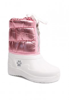 Дитячі чобітки для дівчаток Kredo 19-д-26 Білий