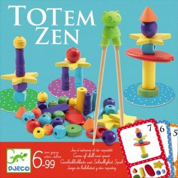 Гра настільна Djeco Балансування Тотем Зен (3070900084544)