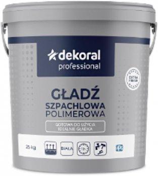 Шпаклівка Dekoral Gotowa Gładź Szpachlowa 25 кг (DP-315245)