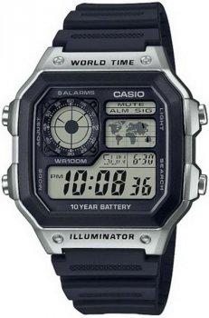 Чоловічі наручні годинники Casio AE-1200WH-1CVEF