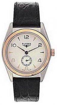 Чоловічі наручні годинники Elysee 7841406 leather brown