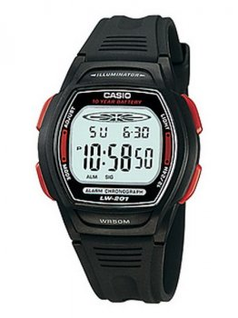 Чоловічі наручні годинники Casio LW-201-4AVDF