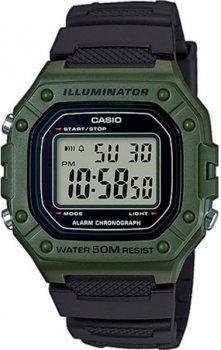 Чоловічий наручний годинник Casio W-218H-3AVEF
