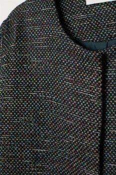Пальто H&M 5779487 Черное
