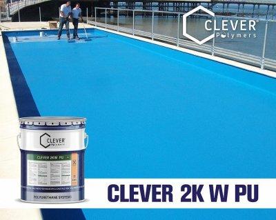 Поліуретанова гідроізоляція для резервуарів з водою Clever Polymers 2KW PU (24 кг)