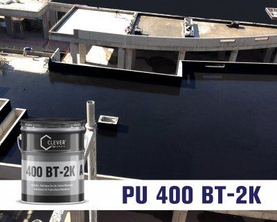 Полімерно-бітумна гідроізоляція Clever Polymers BASE 400 BT (40 кг)