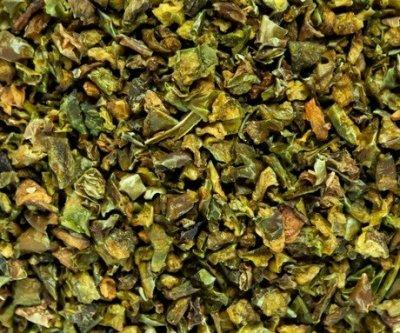 Паприка зеленая резаная 6*6 500г
