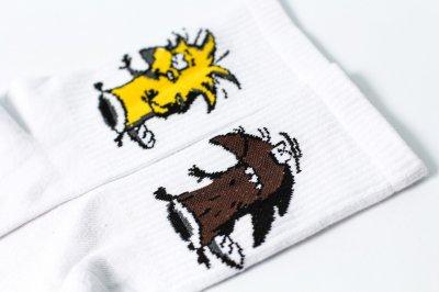 Мужские носки LOMM Бобры