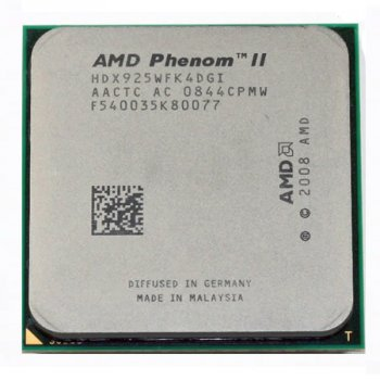 Процессор AMD Phenom II X4 925 2,8GHz AM3 Б/У