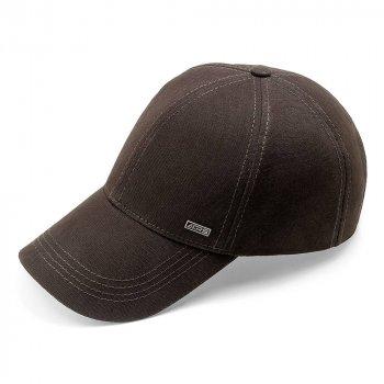 Бейсболка мужская котоновая кепка с регулировкой ATRICS IBK158 M / 55-56 RU Коричневая
