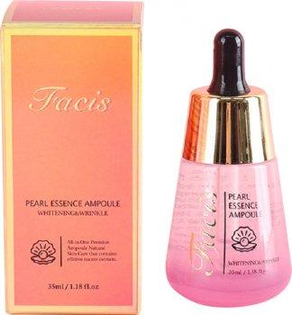 Сыворотка для лица Jigott Facis Pearl Essence Ampoule с экстрактом жемчуга 35 мл (8809541280870)