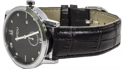 Наручные часы кварцевый механизм SWIDU SWI-018 Black (FKT-3088-8707)
