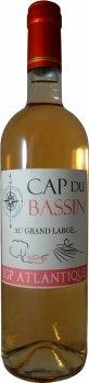 Вино Cap Du Bassin - Au Grand Large Rose розовое сухое 0.75 л 12.5% (3700179905966)