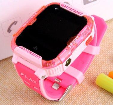 Дитячі Розумні Смарт Годинник з GPS видеозвонком і 4G K22 Pro Рожеві