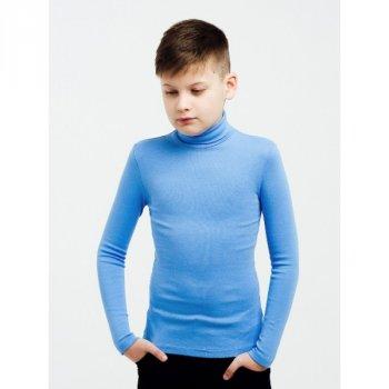 Гольф с отворотом Smil 114652 синий иней