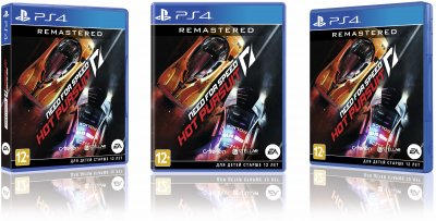 Игра Need For Speed Hot Pursuit Remastered для PS4 (Blu-ray диск, Russian version)