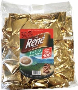 Кофе молотый в чалдах Rene Papua 100% Arabica 100 шт (5902480010355) для кофемашин Philips Senseo