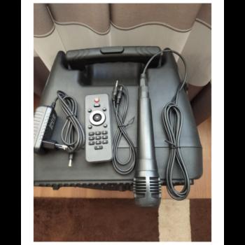 Портативна акустична система колонка ZPX ZX7774 на акумуляторі USB Bluetooth FM 150 Вт