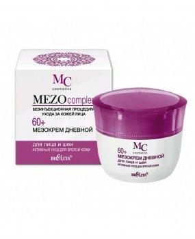 Дневной мезокрем для лица и шеи Активный уход для зрелой кожи Белита Mezocomplex 60+ 50 мл (4899151023836)