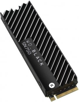 Western Digital Black SN750 NVMe SSD 1TB M. 2 2280 PCIe 3.0 x4 3D NAND (TLC) (WDS100T3XHC)