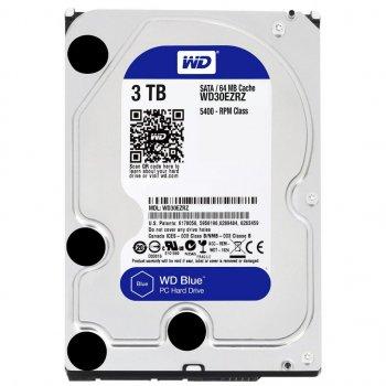 Жорсткий диск WD 3.5 SATA 3.0 3TB 5400rpm 64Mb Blue WD30EZRZ
