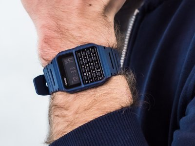 Чоловічі годинники Casio Vintage CA-53WF-2BEF