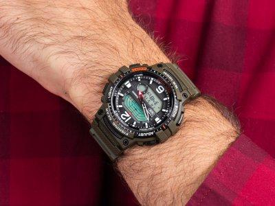 Чоловічі годинники Casio WSC-1250H-3AVEF