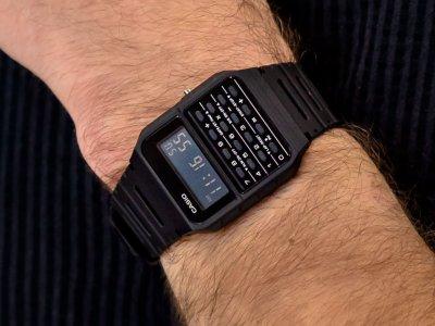 Чоловічі годинники Casio Vintage CA-53WF-1BEF