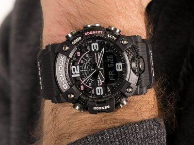 Чоловічий годинник Casio G-SHOCK GG-B100BTN-1AER