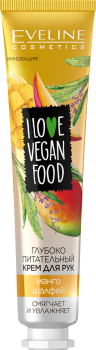 Питательный крем для рук Eveline I Love Vegan Food Mango&Salvia 50 мл (5901761999310)