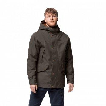 Куртка утепленная CLIFTON HILL JACKET M Jack Wolfskin 1113341-5087 Коричневый