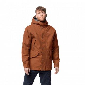 Куртка утепленная CLIFTON HILL JACKET M Jack Wolfskin 1113341-5090 Коричневый