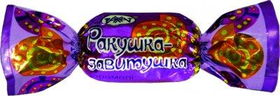 Карамель Рахат ореховая Ракушка-завитушка 1 кг (4870036006125)