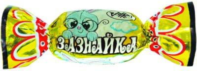 Карамель Рахат молочно-ореховая Зазнайка 1 кг (4870036006095)