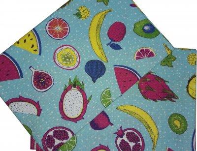 Вафельное полотенце Зоряне сяйво Витаминка 45 х 60 см (911_витаминка)