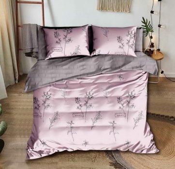 Комплект постельного белья Stella Prima Микросатин 180x220 Сиреневый (SP-1023 Md)