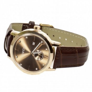 Наручные часы кварцевый механизм SWIDU SWI-018 Brown (FKT-3088-8707)