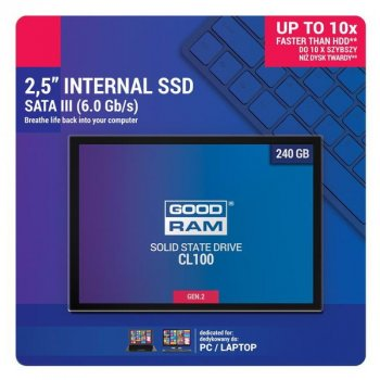 SSD 240GB GOODRAM CL100 GEN.2 2.5