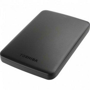 """HDD ext 2.5"""" USB 1.0 TB Toshiba Canvio Basics Black (HDTB410EK3AA)"""
